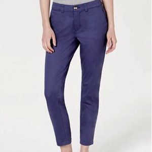 NWT navy essential pant size 10